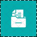 Box Cabinet Drawer Icon