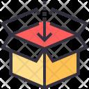 Box Container Arrow Icon