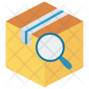 Box Search Parcel Icon