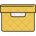 Filing Box Inbox Icon