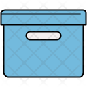 Filing Box Parcel Icon