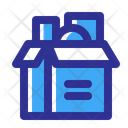 Box Delivery Open Icon