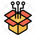 Gift Present Connection Icon