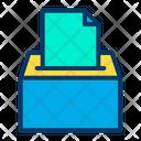 Ballot Box Democracy Election Box Icon