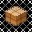 Bandaged Isometric Box Icon