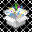 Box Celebration Icon