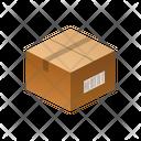 Closed Label Isometric Icon