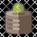 Money Box Savings Icon