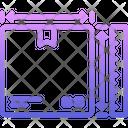 Box Dimension Delivery Icon