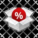 Box Discount Icon