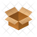 Open Isometric Box Icon