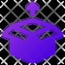 Box Export Icon