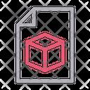 Box Shape Design Icon