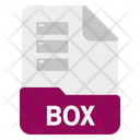 Box File Format Icon