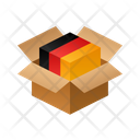 Germany Isometric Box Icon