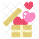 Box Heart Gift Box Icon