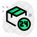 Box Hours 24 Hours Delivery Delivery Icon