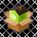 House Isometric Box Icon