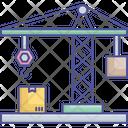 Box Lifter Crane Icon
