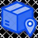 Box Location Delivery Icon