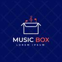 Music Box Box Tag Box Label Icon