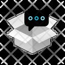 Box Message Wait Icon