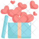 Box Heart Balloon Icon