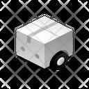 Box On Wheels Icon