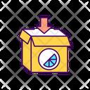 Box Branded Logo Icon