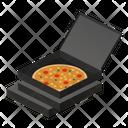 Pizza Open Icon
