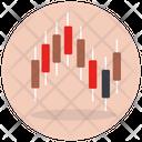 Box Plot Candlestick Chart Data Analytics Icon