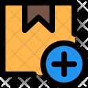 Box Plus Add Parcel New Parcel Icon