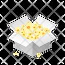 Box Popcorn Icon