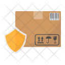 Cardboard Box Protection Icon