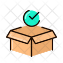Box Received Delivery Shipping Icon