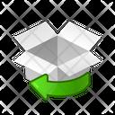 Box Rotate Icon