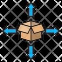 Box Send Icon