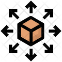 Box Sharing Icon