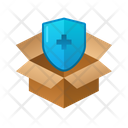 Shield Isometric Box Icon