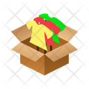 Shopping Isometric Box Icon