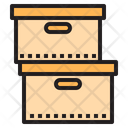Box Stack Boxes Parcel Icon