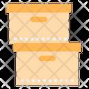Box Stack Icon