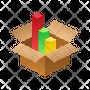 Rating Isometric Box Icon