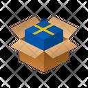 Sweden Isometric Box Icon