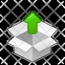 Box Upload Icon
