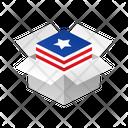 Box Usa Icon