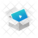 Box Video Player Icon