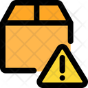 Box Warning Delivery Alert Delivery Warming Icon