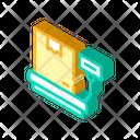 Box Weight Isometric Icon