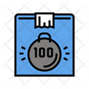 Box Weight Color Icon